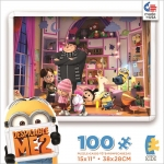 Despicable Me 2 - Girls Room - 100 pc Puzzle