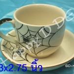 ของชำร่วย แก้วน้ำ พร้อมจานรองแก้ว เซรามิค GD-nd52