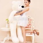 ตุ๊กตาหมี ลืมตา ขนาด 1.2 เมตร