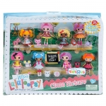 """Mini Lalaloopsy Dolls """"Classroom Picture"""" 8-Pack"""