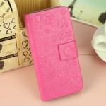 เคสไอโฟน 5/5s/SE (Case Iphone 5/5s/SE) กระเป๋าลายแม่มดน้อย สีชมพูเข้ม
