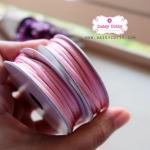 เชือกหางหนู สีชมพู 1 ม้วน (ยาว 2 หลา)