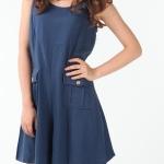 พร้อมส่ง ::PXL001:: ชุดเอี้ยมกางเกงแฟชั่น สีน้ำเงิน ไซต์ XXL