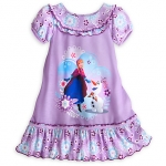 Anna and Olaf Nightshirt for Girls