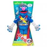 Sesame Street Flying Super Grover Plush Doll