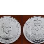 เหรียญประเทศ เกาะนีอูเอCNU-KM87ชนิดราคา 1 DOLLAR (ดอลลาร์)