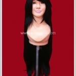 วิกผมคอสเพลย์ สีดำ มีหน้าม้า Long Bang Black Cosplay Wig