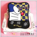 Mouse Pad (ที่รองเม้าส์) ขนาด 25*19 CM ลาย Doraemon สีดำเหลือง