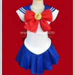 ชุดเซเลอร์มูน นักรบสาวสวยในชุดกะลาสี Sailor Moon Cosplay Costume