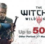 PSN Store Thai - The Witcher 3: Wild Hunt Sale 50%