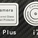 กระจกนิรภัยป้องกันเลนส์ Iphone 7Plus (ไม่มีบรรจุภัณฑ์)