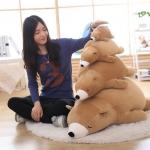 ตุ๊กตาหมีขี้เซา Sleepy bear สีช็อคโกแล็ต