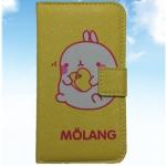 เคสไอโฟนกระเป๋าไอโฟน4/4s ลายกระต่าย MOLANG น่ารัก แบบ 5