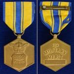 เหรียญตราสหรัฐอเมริกา ชนิด Commendation Medal 1 เหรียญ ใช้แล้ว