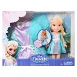 Disney Frozen Elsa Toddler Doll/ Dress Combo