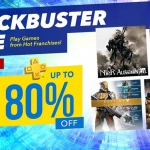 PSN Store Thai - BLOCKBUSTER Sale ลดสูงสุด 80%