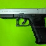 Zoraki 917T / Glock 17 Two Tone Front Firing 9mm.PAK Blank Gun