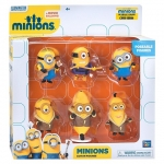 Despicable Me Minions Collectible Figure Set- 6 piece