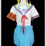 ชุดนักเรียนแขนสั้น สึซึมิยะ ฮารุฮิ Suzumiya Haruhi