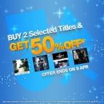 PSN Store Thai - ซื้อทุกๆ 2 เกม ได้ลด 50%