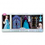 Elsa Mini Doll Wardrobe Play Set - Frozen