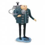 Despicable Me 2 Deluxe Action Figure - Gru with H.2.O Shooter