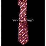 เนคไทนักเรียนญี่ปุ่น ลายริ้วสีแดง School Necktie