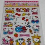 สินค้าหมดค่ะ!! สติ๊กเกอร์ คิตตี้ แผ่นใหญ่ ลายที่ 11 sticker kitty