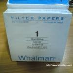 กระดาษกรอง whatman filter paper