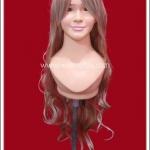 วิกผมแฟนซี สีทอง มีหน้าม้า ดัดลอน Gold Curl with Bang Fancy Wig