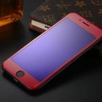 ฟิล์มกระจก 3D แสงม่วงเป็นมิตรต่อดวงตา ฟิล์มแบบเต็มจอ (สีแดง) สำหรับ Iphone 7