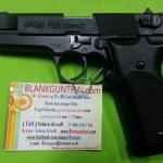 Umarex Walther P88 Black, 9 mm. P.A.K. Blank Gun