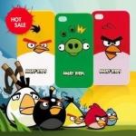 เคสไอโฟน 4/4s (Case Iphone 4/4s) Hard Case Angry Bird สีแดง