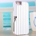 เคสไอโฟน7Plus (2 In 1 เคสไอโฟน+ไม้เซลฟี่ในตัว) (Hard Case Selfie Stick Protective Sleeve) สีขาว ฟรี Remote Bluetooh