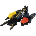 Power Rangers Zord Vehicle With Action Figures - Black Ranger