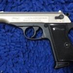 Umarex Walther PPK Nickel , cal 9mm.PAK Blank Gun