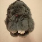 กระต่ายสีเทา 13cm