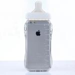 เคสไอโฟน 6 Plus / 6s Plus (TPU Case เคสนิ่ม) ขวดนมสีขาว