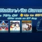 PSN Store Thai - PS Vita Game Sale ลดสูงสุด 85%