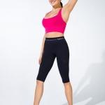 ชุดออกกำลังกาย ลดกระชับ แบบกางเกง 4 ส่วน ลดไขมัน เซลล์ลูไลท์ เส้นเลือดขอด รอยแตกลาย นาโน อินฟราเรด