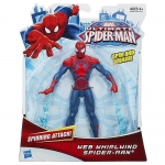 Spider-Man Ultimate Core 6 inch Action Figures - Web Cyclone Spider-Man