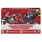 Transformers Platinum Edition Grimlock Vs. Decepticon Bruticus Figure Pack