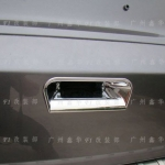 CVR-042 เบ้ามือจับท้าย Honda CRV 2012 และโครมเมียมครอบกระจกข้าง