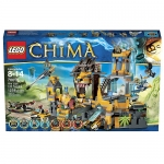 LEGO Legends of Chima The Lion CHI Temple (70010) Age: 8 - 14 years