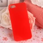 เคสไอโฟน5C กรอบแข็งสีแดง (Hard Case)