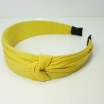ไม้คาดผมผ้าสีเหลือง