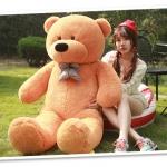 ตุ๊กตาหมี ลืมตา ขนาด 1.8 เมตร
