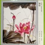 ภาพแคนวาส ดอกไม้ผู้กันจีน can11