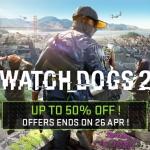 PSN Store Thai - Watch Dogs 2 Sale 50%