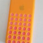 เคสไอโฟน 5c (TPU CASE) คลุมรอบเครื่องสีส้ม